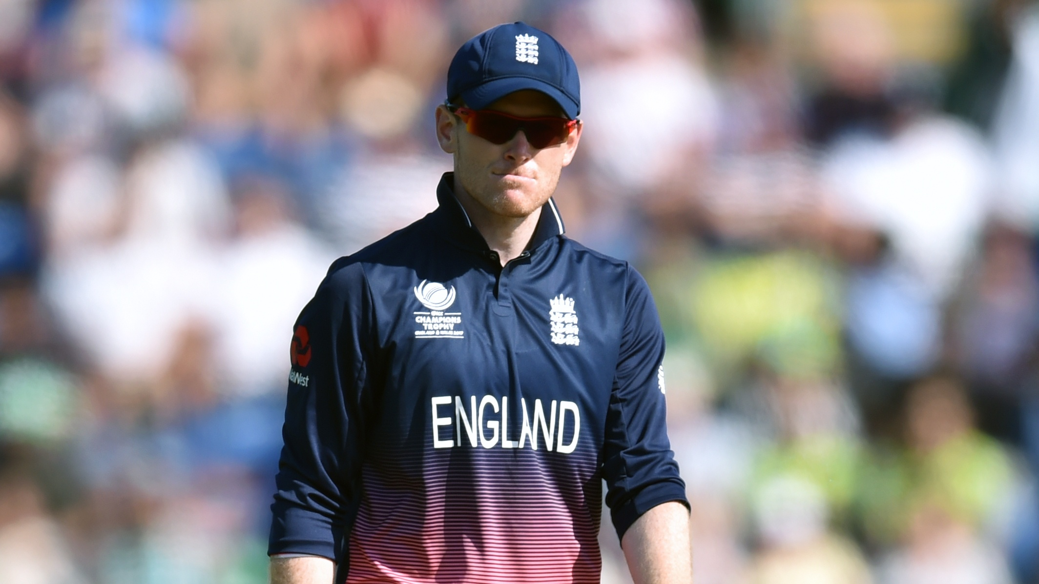 Morgan blames pitch for England calamity