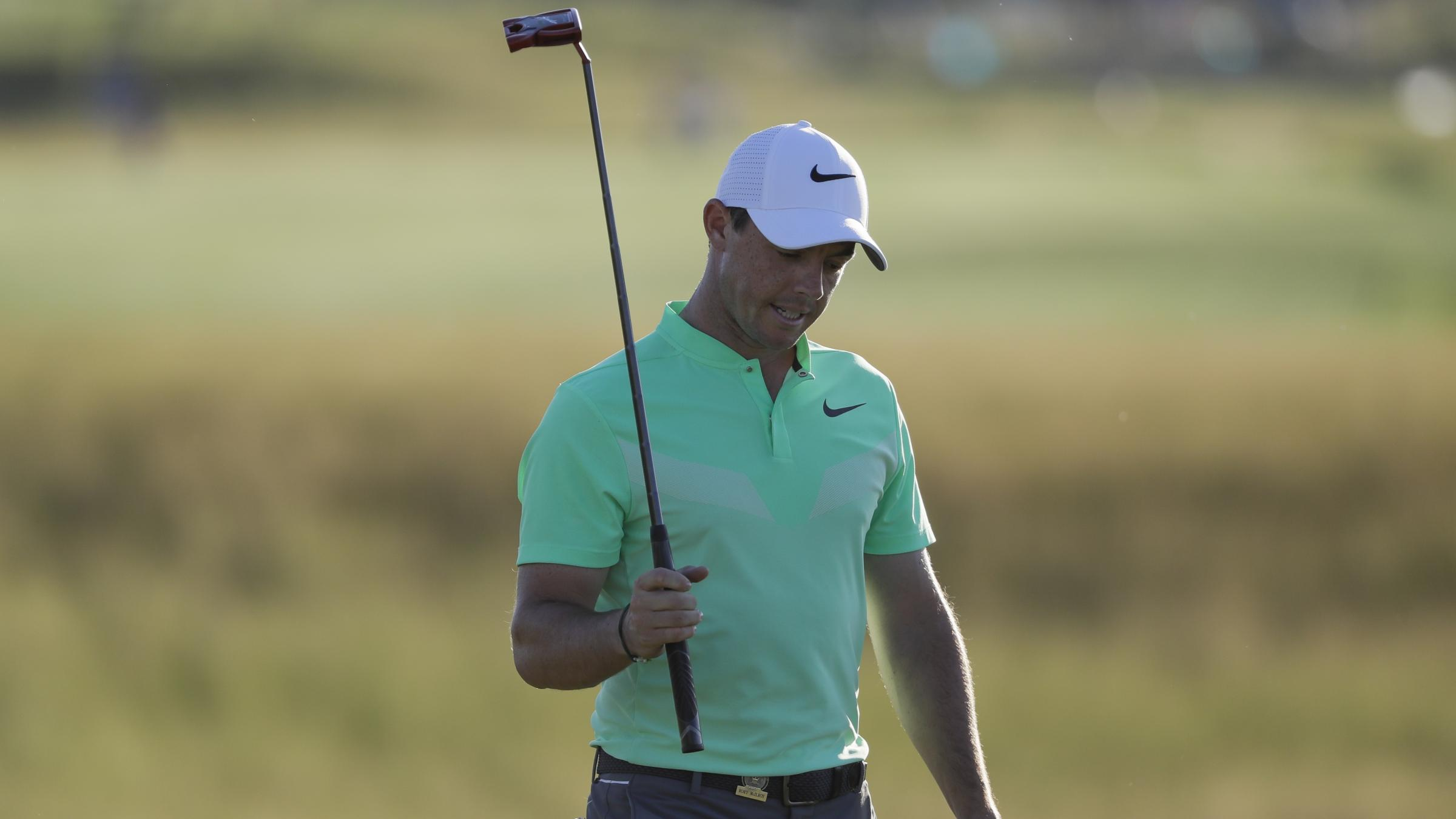 Four-way tie for lead at US Open